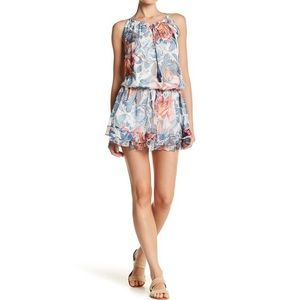 Elizabeth and James Kenji Floral Silk Dress